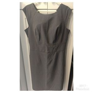 The Limited  Sheath Dress Pewter Grey Tagged 14